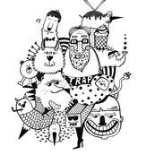 doodle ilustrācija