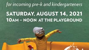 Pre-K and Kinder 2021 Playdate