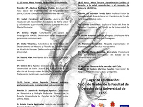 3ªJornada de violencia obstétrica. Universidad de León