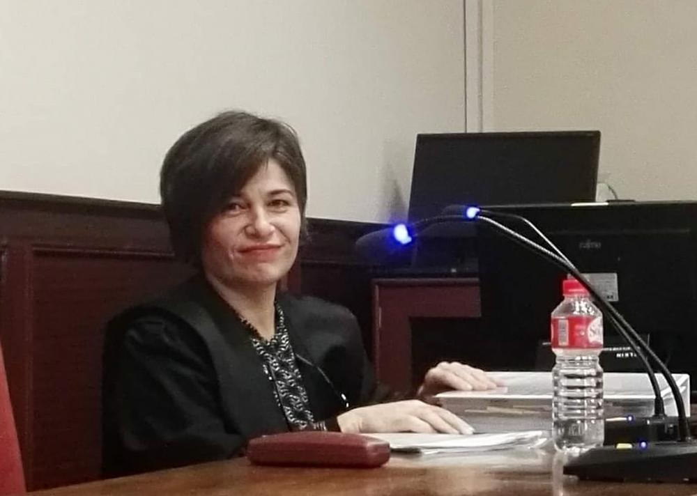 Francisca Fernández Guillén en sala