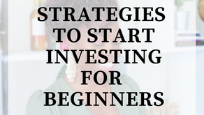 Strategies To Start Investing For Beginners