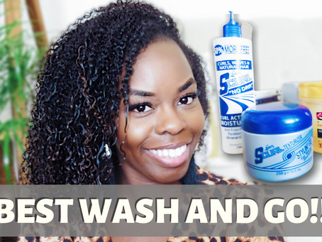 Wash and Go Goals! 3 Products For The Perfect Wash And Go!