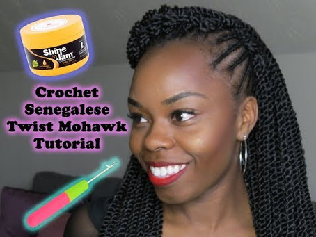 DIY Crochet Mohawk