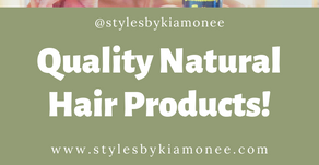FINALLY! A Quality All Natural Hair Product Line!