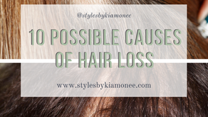 10 Possible Causes of hair loss and how to prevent it