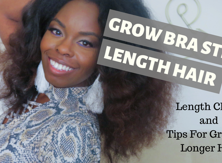 Length Check/ Tips To Grow Bra Strap Length Hair