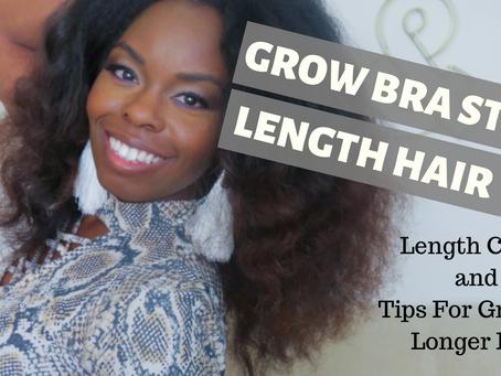 Length Check/ Tips To Grow Bra Strap Length Hair