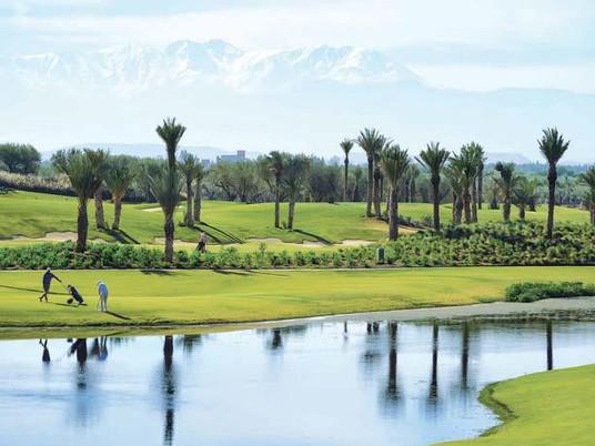 Golftur til Marrakech med barn