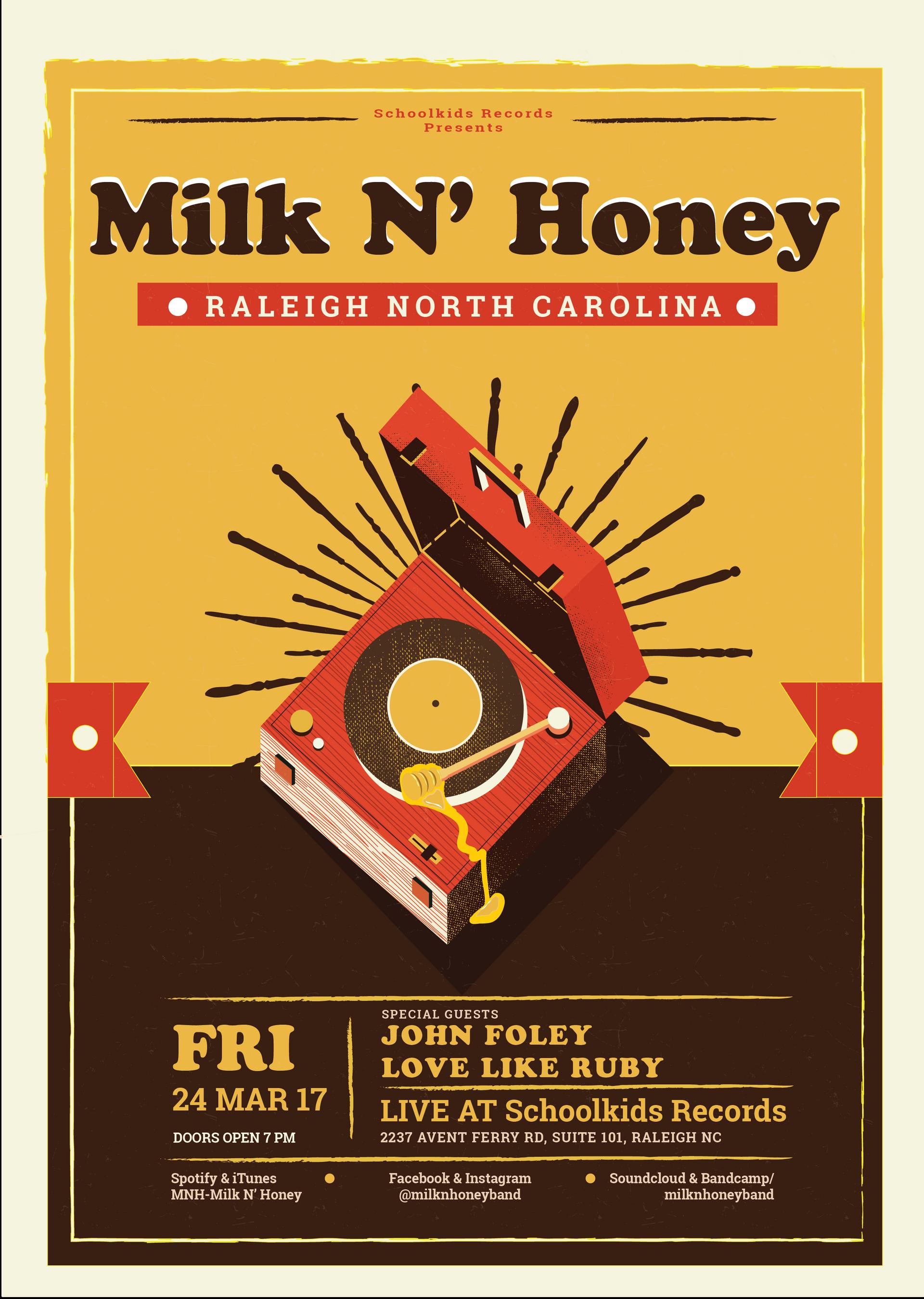 MNH Raleigh Poster