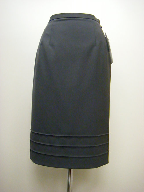 裾ピンタックタイトスカート