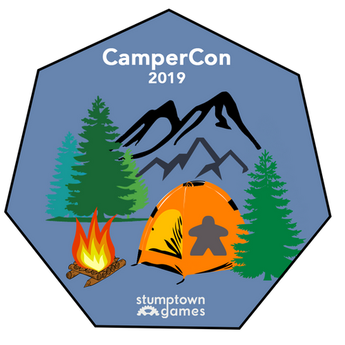 Christmas Board Games 2019.Campercon Board Games And Camping Stumptown Games
