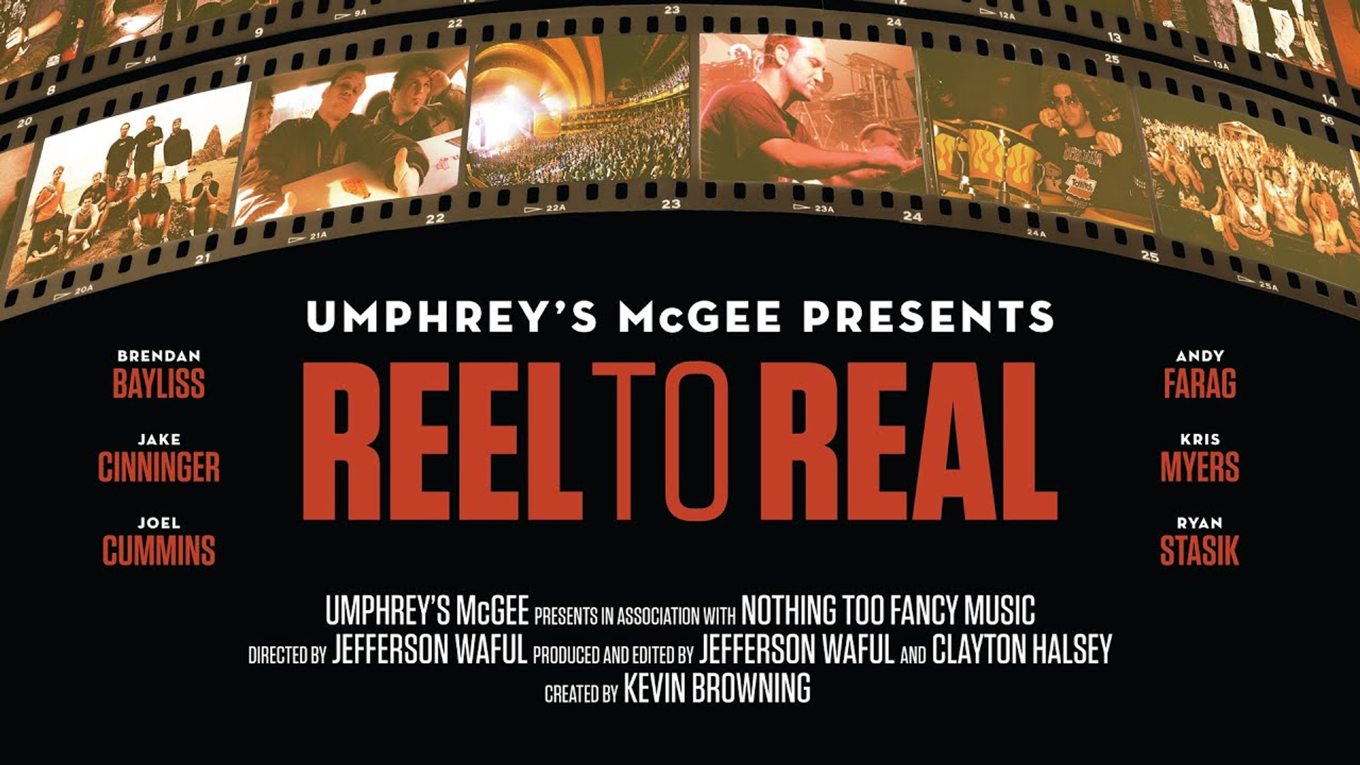 Umphrey's McGee: REEL TO REAL