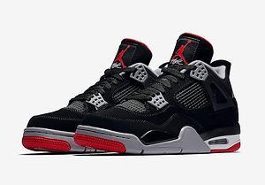 Jordan 4 Retro Bred