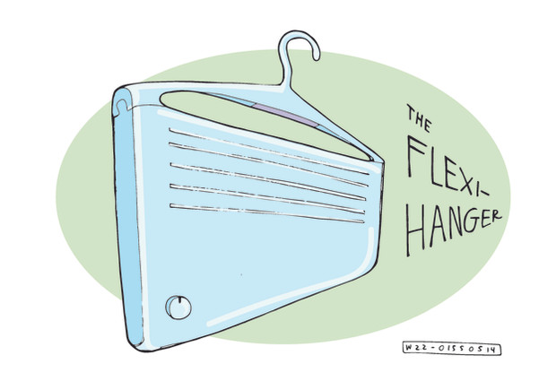 Flexi-hanger