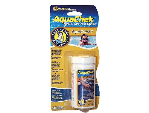 Aquacheck 7 - 50 bandelettes
