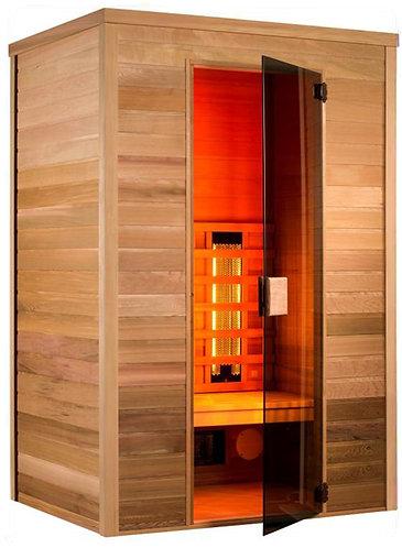 Sauna infrarouge Infrawave en Cèdre Rouge 150