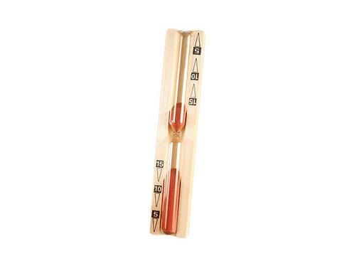 Sablier sauna 15 min. en bois