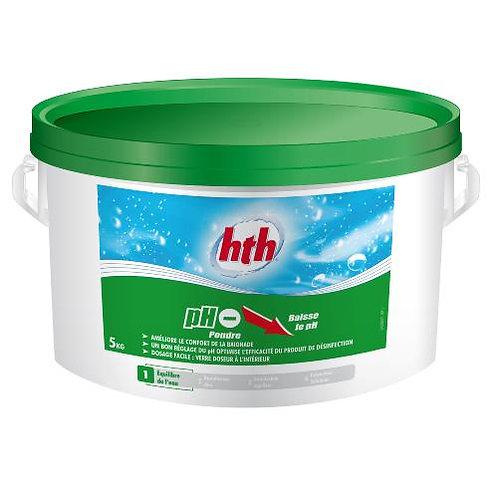 HTH pH moins en poudre 5kg