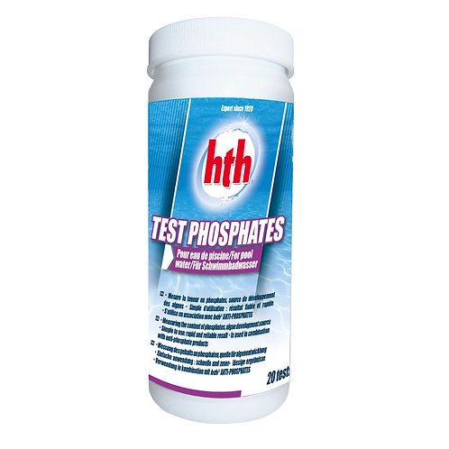 Testeur phosphate HTH 20 sachets