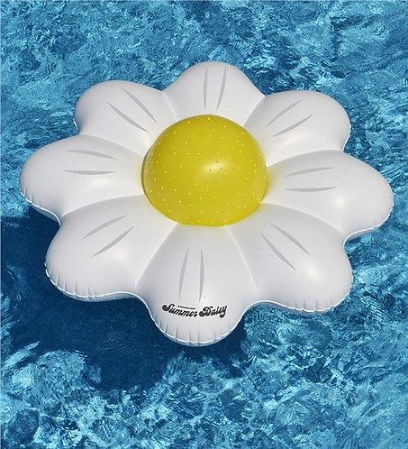 Matelas gonflable + ballon Summer Daisy Swimline