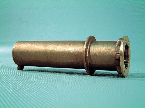 Passage de paroi en bronze Hugo Lahme pour refoulement liner et béton