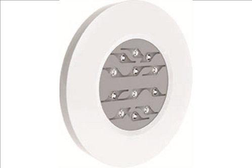 Projecteur Weltico Design ABS Rainbow 12 LED blanches , béton liner