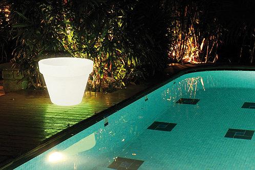 Jardinière d'extérieur lumineuse LED XXL