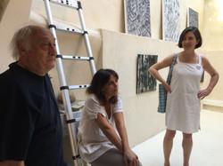 Installation des Galleries