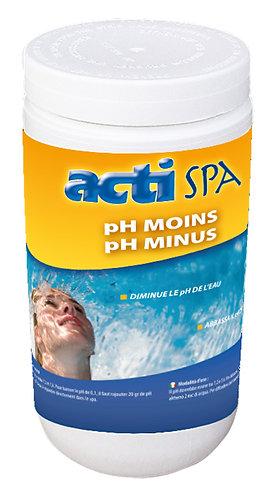 pH moins en poudre 1,5 Kg Acti spa