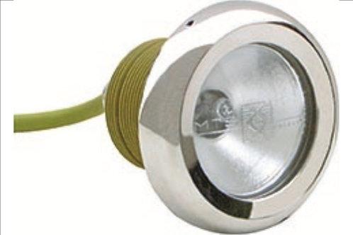 Projecteur MTS SPL III 50W/12V halogène enjoliveur inox