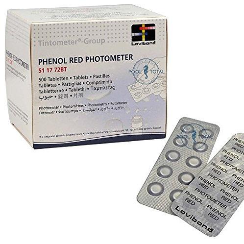 Phénol rouge photomètre (100 unités) LOVIBOND