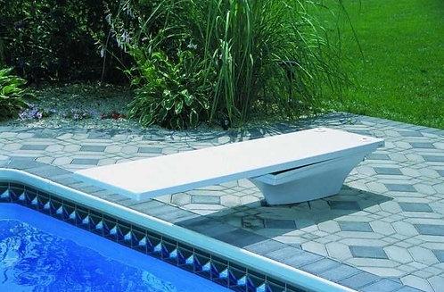 Plongeoir pour piscine Flyte-Deck II 183 cm (planche + socle)