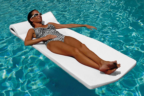 Matelas flottant Super-soft Sunsation blanc