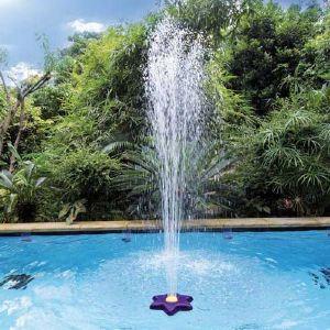 Fontaine fleur flottante