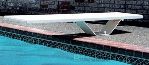 Plongeoir pour piscine Frontier II 183 cm (planche + socle)