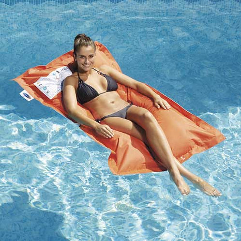 Matelas flottant Breez Orange
