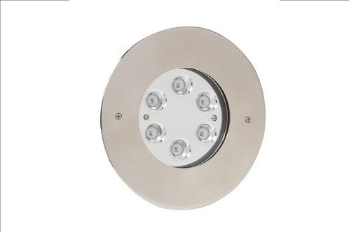 Projecteur Perla In RGBW 48W, 2170 lm, Inox 316L