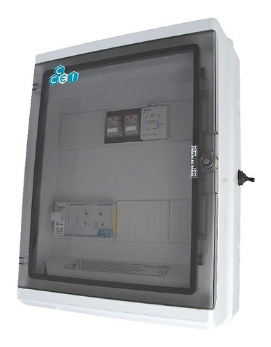 Coffret de régulation de niveaux à relais CRBTRN CCEI