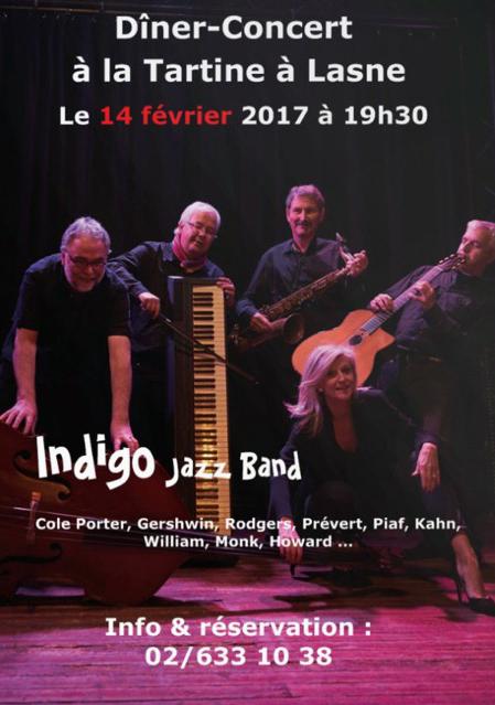 affiche concert jazz Tartine