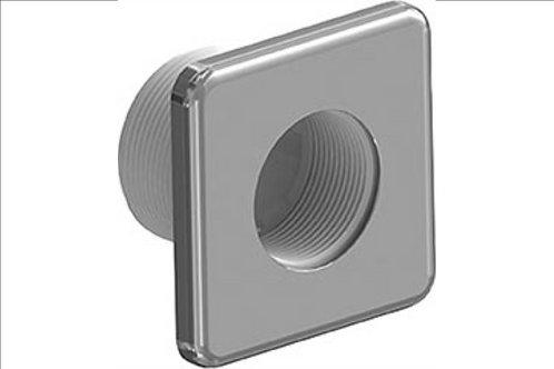 Cache vis inox Weltico Design pour prise balai Piscine liner et béton