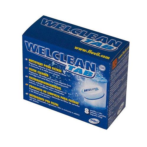 WelClean Tab Boite 8 pastilles