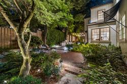 Backyard Garden and Bistro Lighting