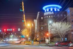 Peninsula Building Buckhead Color Change Lighting