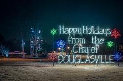 Douglasville Park Christmas Lights