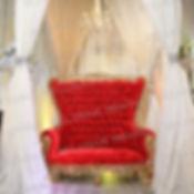 Red Velvet-Gold Throne Loveseat (WM).JPG