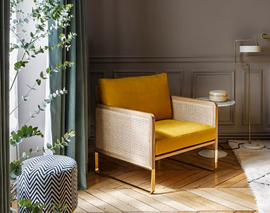 Rededition_Fauteuil_Cannage_ocre_Pied_la