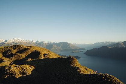hikers-travel-on-ridge-of-majestic-mount