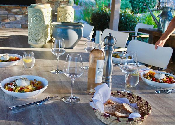 Cuisine typique provencale villa Bois Fleuri