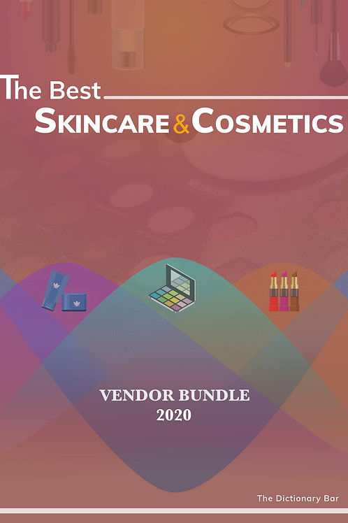SKINCARE & COSMETIC BUNDLE VENDORS