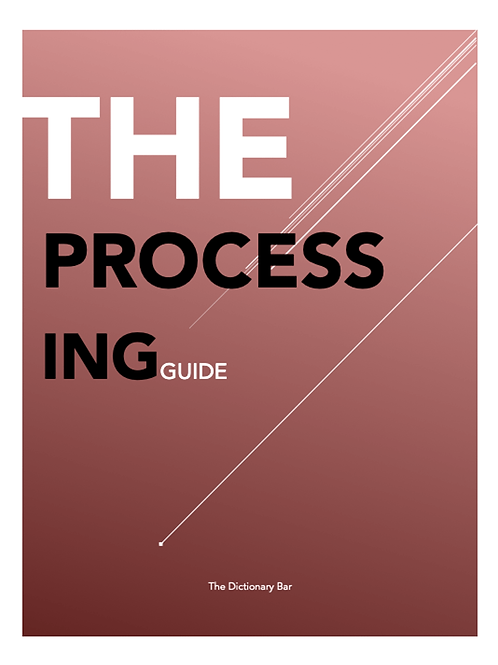 THE PROCESSING GUIDE